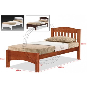 Wooden Bed WB1127