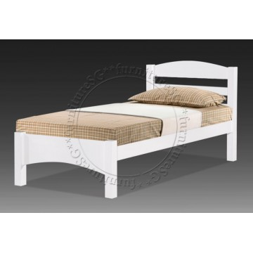 Wooden Bed WB1126 (White)
