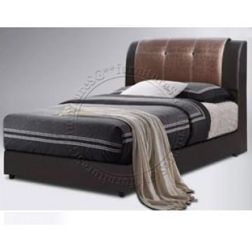Hazel Leather Bed LB1068 - Single