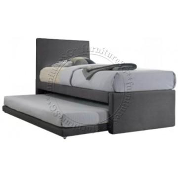 Shasa 2 in 1 Fabric Bedframe (Single/Super Single)