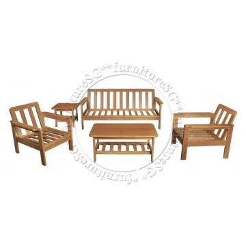 Wooden Sofa WS1006