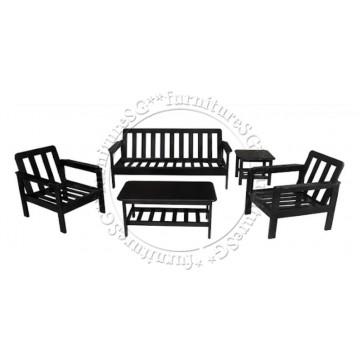 Wooden Sofa WS1006A