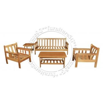 Wooden Sofa Set WS1034