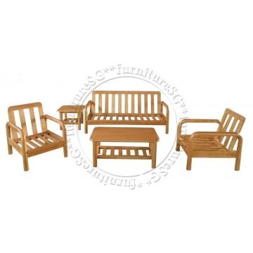 Wooden Sofa WS1007