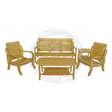 Wooden Sofa Set WS1029