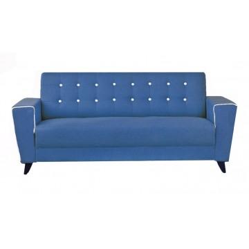 Perry Fabric Sofa (Blue)