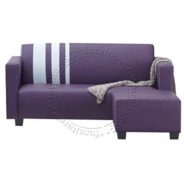 Charlie Sofa + Stool (Purple)