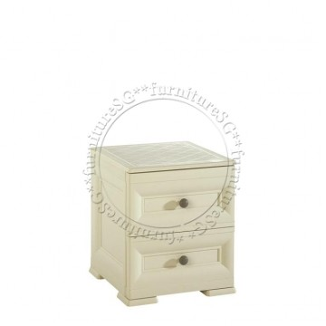 Tontarelli - Bedside Table 2 Drawers