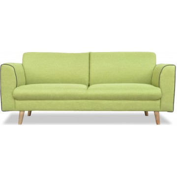Alpha Fabric 2 or 3 Seater Sofa (4 Colours Available)