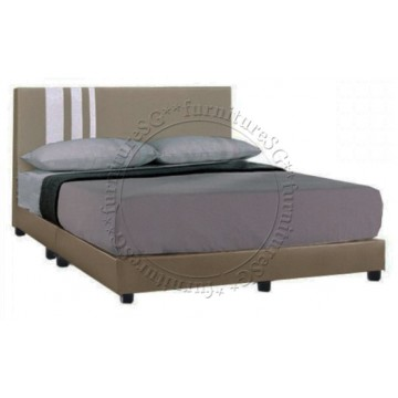 Stamford Faux Leather Bed