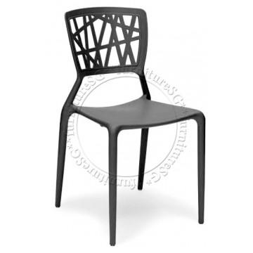 Izzy Dining Chair (Black)