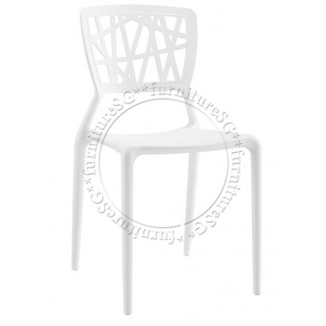 Izzy Dining Chair (White)