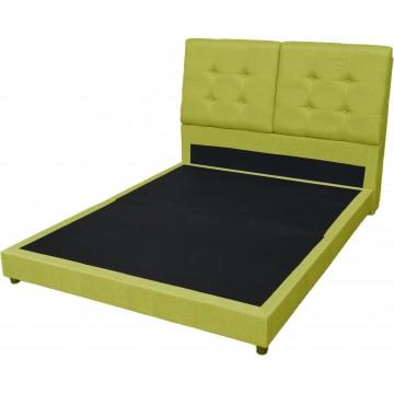 Sophia Fabric Bedframe (Green)