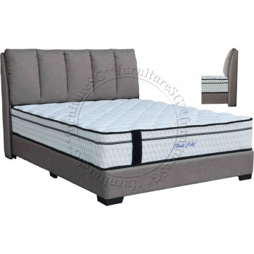 Euro-Top Back Relief Pocketed Spring Mattress & Bed Package