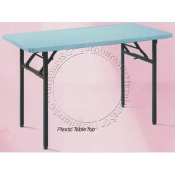 Multi Purpose Plastic Top Foldable Table (Limited Sets)