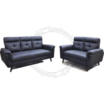 Verona Sofa Set (Half Leather)  2 Years Warranty