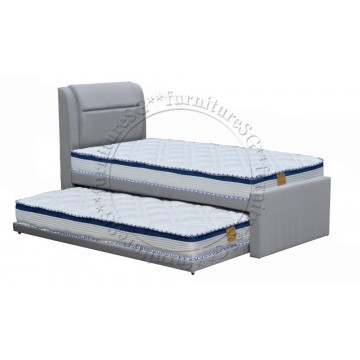 2 in 1 Faux Leather Bed 1089A