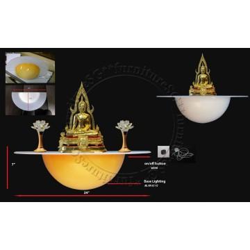 Thai Round Based Altar Table 半圆神台 - UH51