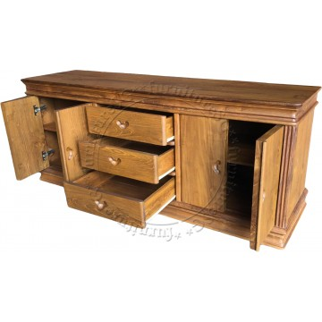 Oxley Full Teak Sideboards and Buffets (Limited Sets)