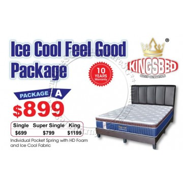 KingsBed - Ice Cool Feel Good Package A