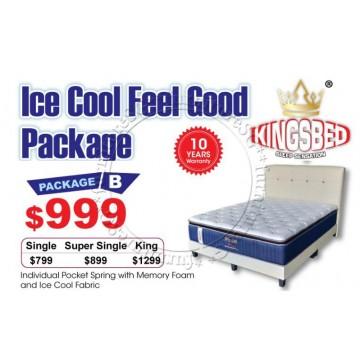 KingsBed - Ice Cool Feel Good Package B