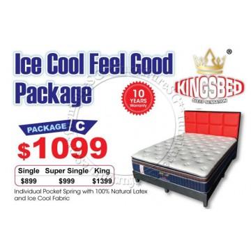 KingsBed - Ice Cool Feel Good Package C