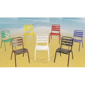 3V Metal Chairs (Assorted Colours) Pre Order