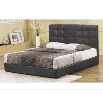 Faux Leather Bed LB1033