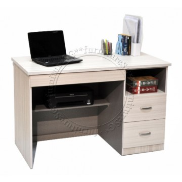 Yallen Writing Table (White Wash)
