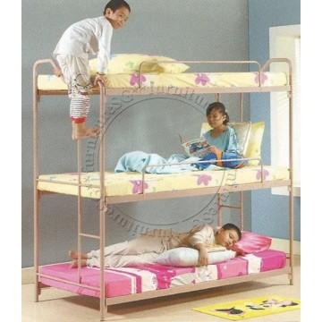 Triple Deck Bunk Bed TD1002