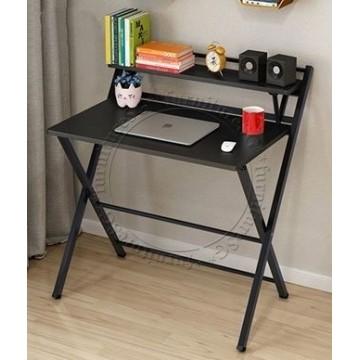 Darren Foldable Work Desk - Dark Brown