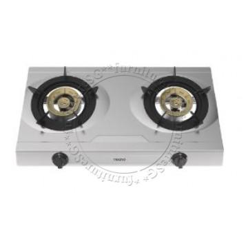 Tecno TTC-0328SV 2-Burner Stainless Steel Table Cooker