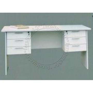 Leo Writing Table (White)