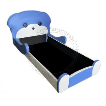 Children Bed - Blue Bear
