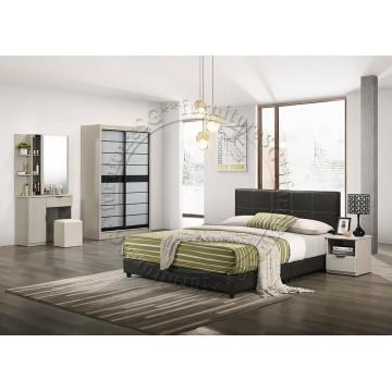 Margaret Bedroom White Wash (Limited Sets) + Free Mattress