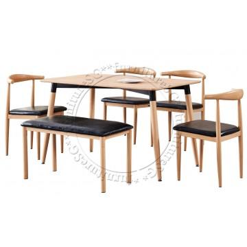 Benson Dining Table Set