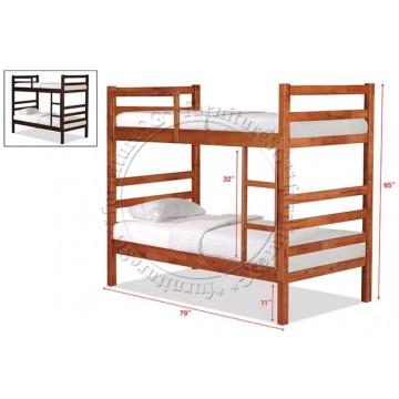 Double Deck Bunk Bed DD1032B (Super Single)
