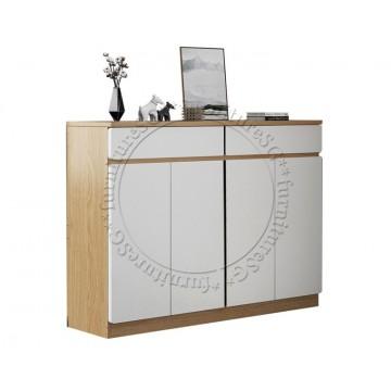 Fraser Shoe cabinet (120cm/140cm) - Light Brown