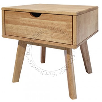 Tiberius Side Table (Solid Wood)