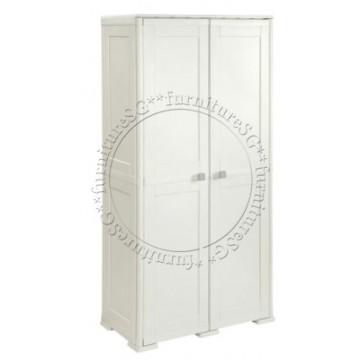 Tontarelli - Simplex Tall Cabinet 6 Compartments Cream