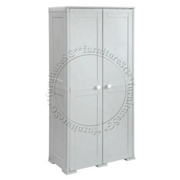 Tontarelli - Simplex Tall Cabinet 6 Compartments Grey