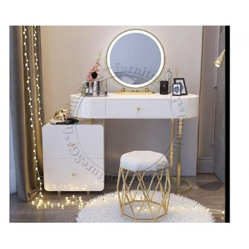Sonia Dressing Table with Matching Stool