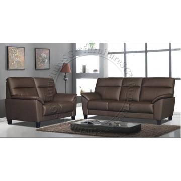 Half Leather Sofa Set SFL1273