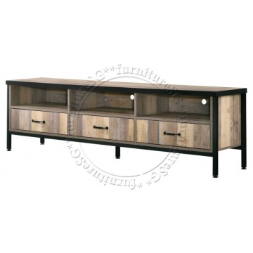(Clearance) Troy TV Cabinet 6 feet