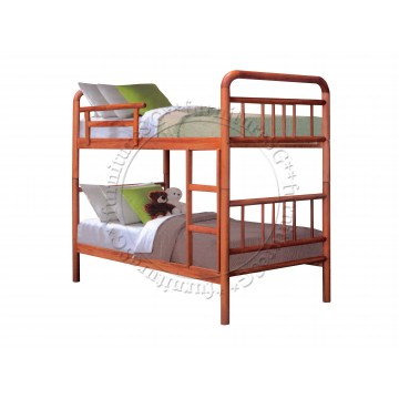 Double Deck Bunk Bed DD18   Available in 5 Colours