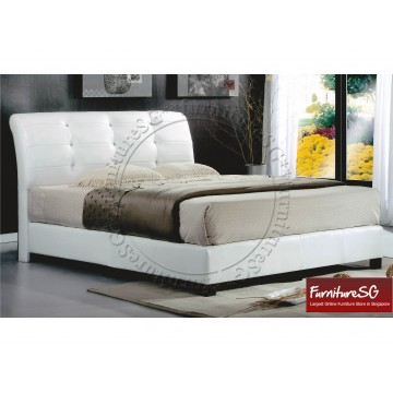 Faux Leather Bed LB1055