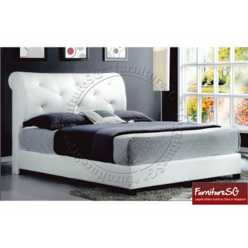Faux Leather Bed LB1057