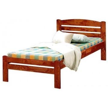 Bundle B : Single Wooden Bed & Lion Foam