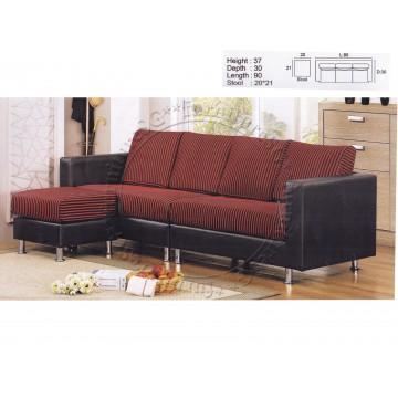 L-Shaped Sofa Fabric FSF1009