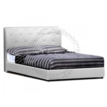 Faux Leather Bed LB1071